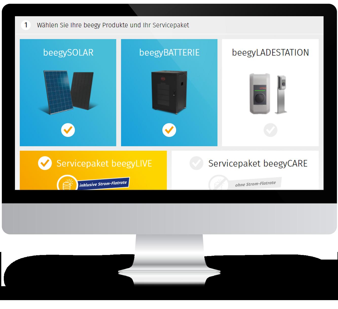 Leadgenerierung per Onlinekonfigurator